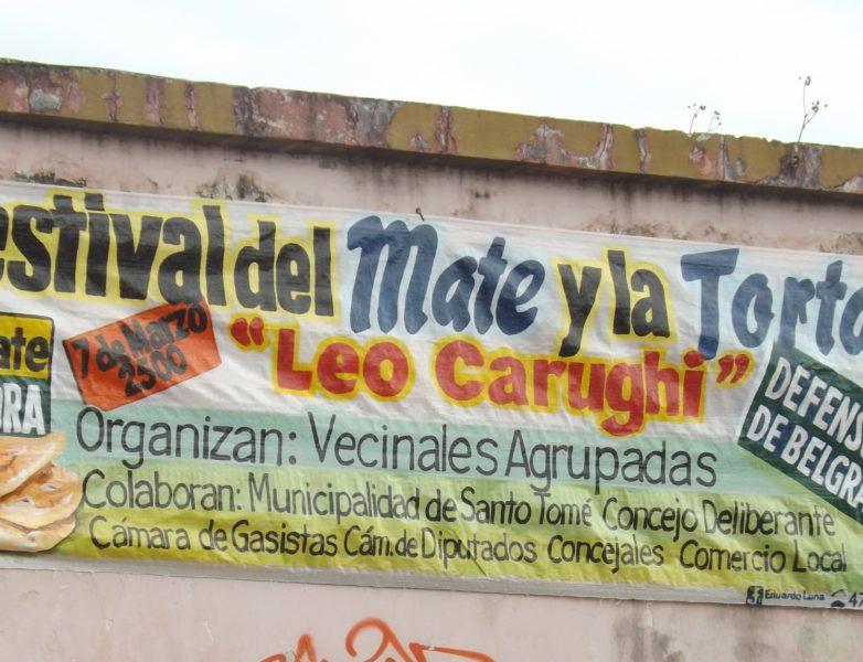 Festival del Mate y la Torta Frita.