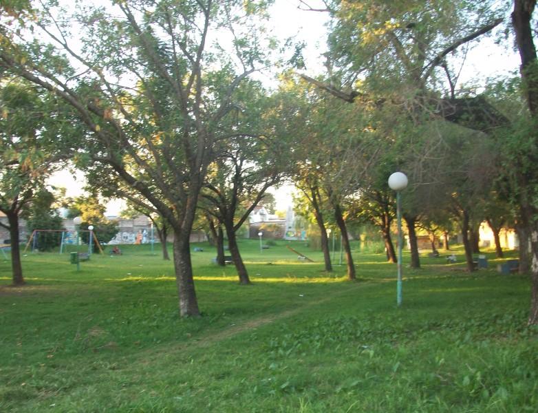 La Plaza Roca actualmente.