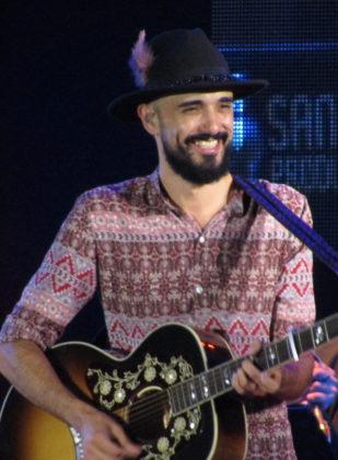 Abel Pintos en el Festival del Pescador 2017.