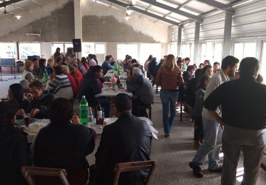 La concurrencia superó las 150 personas.